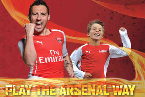 Arsenal Soccer School - One day Arsenal Soccer School course - Save 55%