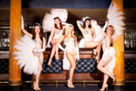 Privee of Knightsbridge - Three Course Meal, Champagne Cocktail and Burlesque  - Save 68%