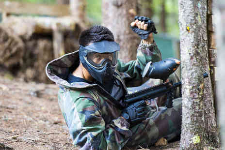 Blind Fire Paintball - Paintball Session for Five with Lunch and 200 Paintballs Each - Save 79%