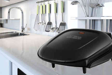 EIC Direct - George Foreman Compact Two Portion Grill - Save 45%