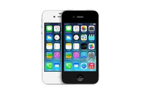 Yellowstone Partners - Refurbished Sim Free iPhone 4 or 4S With Free Delivery - Save 0%