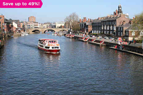 The Queens Hotel - One night stay Explore Historic York - Save 49%