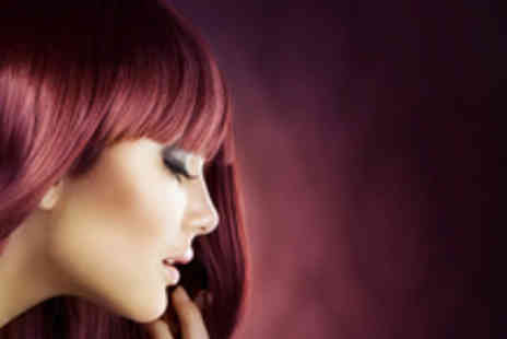 Masquerade Hair & Beauty - Full head of colour, cut, blow dry, treatment and wine - Save 75%