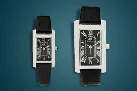 Jan Kauf - His and Hers Jan Kauf Watches - Save 72%