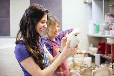 Go Create - Three hour introduction to ceramics class for 2 - Save 66%