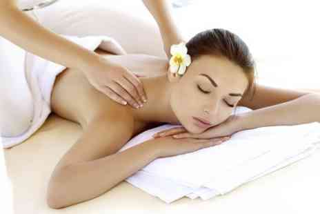 Butterfly Beautys  - Back, Neck and Shoulders Massage Plus Facial - Save 52%
