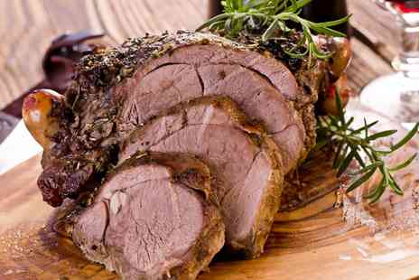 The Brooke Hotel - Two course Sunday carvery for two including  a glass of wine each  - Save 58%