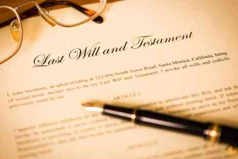 Simple Wills - Single will writing service  - Save 41%