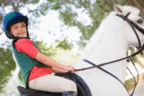 Alstone Court Riding Centre - Pony Party For Up to Eight - Save 0%