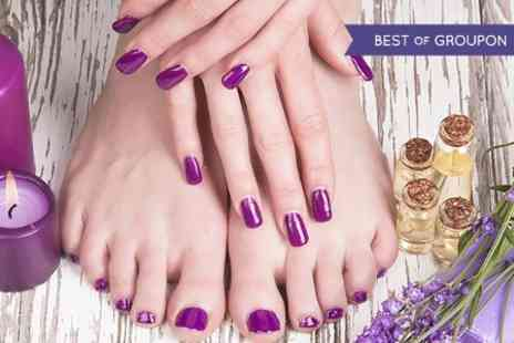 Depilex Health and Beauty - Manicure or Pedicure or Both  - Save 41%