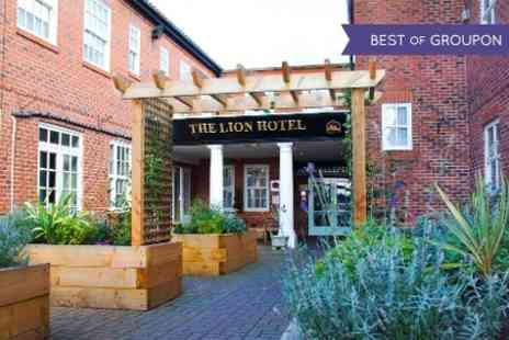 BEST WESTERN Lion Hotel - One Night stay For Two With Breakfast and Prosecco - Save 46%