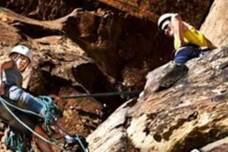 Rockyventures - Half Day Climbing and Abseiling Experience - Save 70%