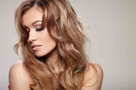 Salontwo - Full head of foil highlights or a full head of colour plus a cut and blow dry   - Save 64%
