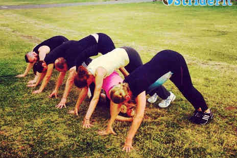 StrideFit - Six Outdoor Bootcamp Sessions on Brighton Beach for One - Save 71%