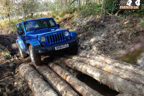 4x4 Events - Hour Long Jeep Off Road Driving Experience for One - Save 61%