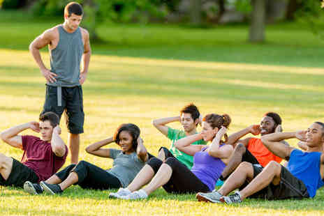Burn It Fitness - 12 Outdoor Boot Camp Classes - Save 68%