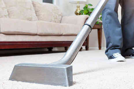 Ultra Clean - Carpet Cleaning Service for Two Rooms - Save 62%