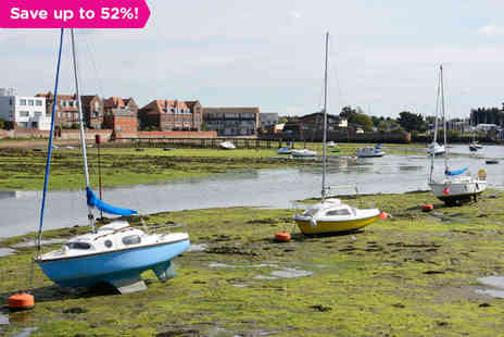 The Brookfield Hotel - A Modern Hotel in the Pretty Town of Emsworth - Save 52%