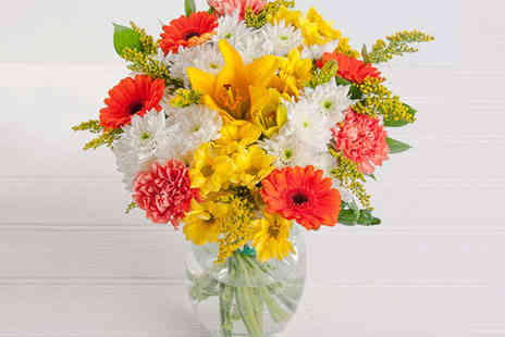 Blossoming Gifts  - Spring Flower Bouquet - Save 43%
