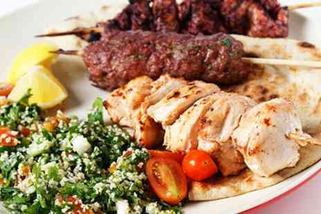 Habibi Lebanese Grill - Two Course Meal For Two - Save 64%