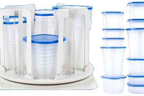 Delizius Deluxe - 49 Piece Container Set - Save 53%