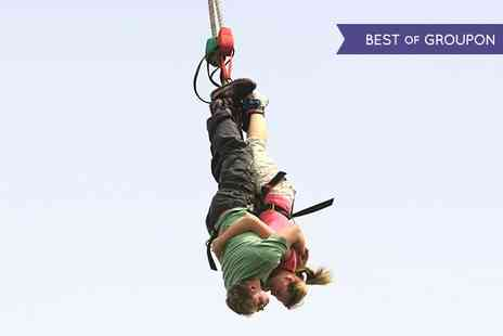 UK Bungee Club - Lovers Leap Tandem Bungee Jumping  - Save 21%