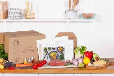 Marley Spoon - Recipe Box With Two  Meals for Two  - Save 50%