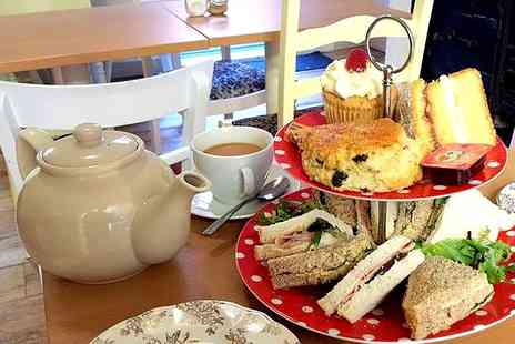 EmzCakes Creative Cafe - Afternoon Tea For Two - Save 0%