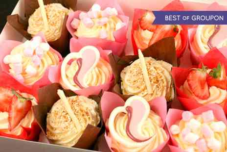 3D Cakes - Luxury Selection of 12 Cupcakes  - Save 72%