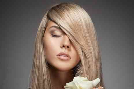 Vintage Rock Hair - Half Head of Highlights With Cut and Blow Dry  - Save 77%