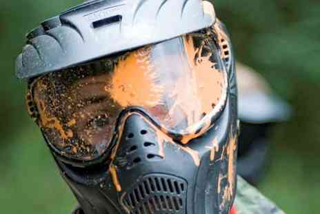 Skirmish Paint Ball -  Play With Light Lunch and 100 Paintballs For Five  - Save 93%