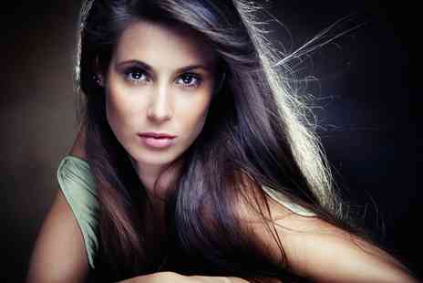 The House Hair & Beauty Salon - Brazilian Blow Dry or Momoko Straightening  - Save 47%