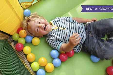 The Splat Centre - Soft Play Sessions With Lunchbox For Two  - Save 0%
