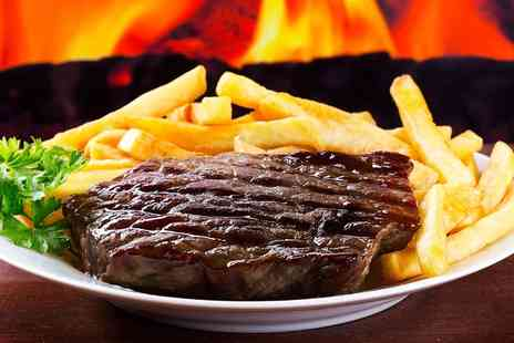 The White Hart - Pub Meal With Wine For Two - Save 56%