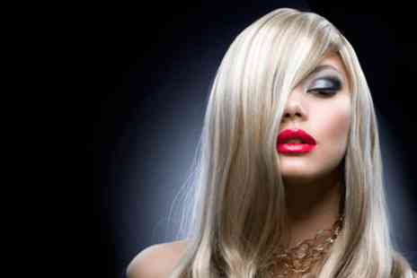 Fusion Hair Design - Half head of highlights, condition, cut and finish  - Save 0%
