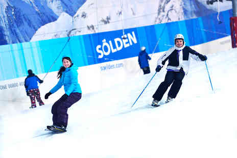 The Snow Centre - Two hour skiing or snowboarding lesson for One including a lift pass and equipment hire  - Save 69%