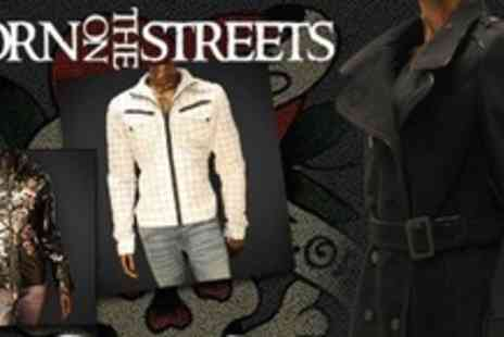 Born on the Streets - Ed Hardy Jacket From Choice of Mens and Womens Styles - Save 84%