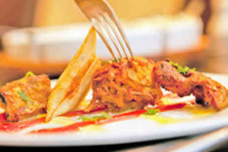 Spice Lounge - Two Course Indian Meal with Wine or Cobra Beer for Two  - Save 63%