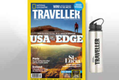National Geographic Traveller - National Geographic Traveller Annual Magazine Subscription with Free Flask - Save 49%