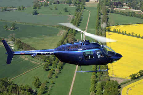 Rushmere Helicopters LLP - Helicopter Pleasure Flights Over Woburn Abbey and Safari Park - Save 51%