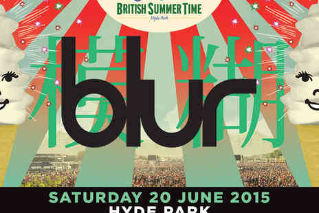 AEG Live - Tickets to Blur at Barclaycard Presents British Summer Time Hyde Park - Save 0%