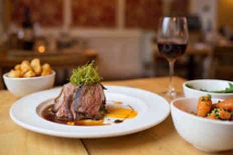 No4 Clifton Village - Two Course Meal with a Glass of Prosecco for Two - Save 45%