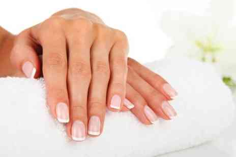 Fusion Hair Beauty  - Gel Polish Plus Paraffin Wax or Hot Stone Massage  - Save 0%