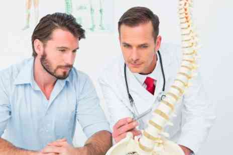 The Chiro Practice - Chiropractic Postural and movement analysis with two treatments  - Save 84%
