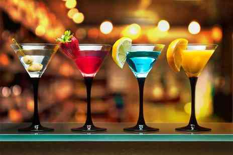 Dice Bar - One hour cocktail masterclass, Two drinks and nibbles for one  - Save 64%