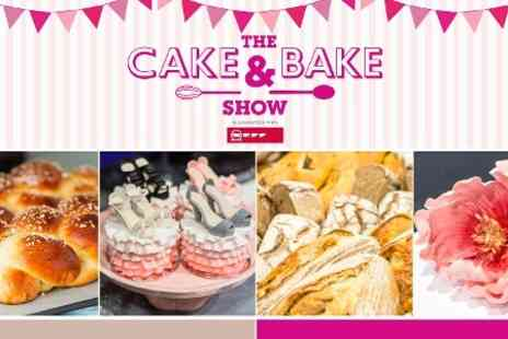 The Cake & Bake Show - Entry To The Cake & Bake Show Harrogate in Association with Neff  For Two for £15 (50% Off) - Save 50%