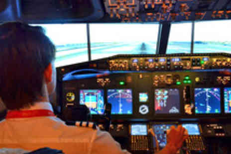 iPILOT - Thrilling 30 Minute Passenger Jet Airliner Flight Simulator Experience - Save 50%