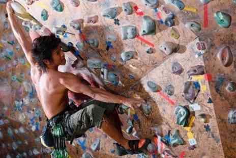 Urban Ascent - Beginners Indoor Climbing Class With Shoe Hire  - Save 60%
