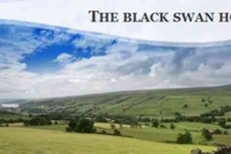 The Black Swan Hotel - One Night Stay For Two With Breakfast and Bottle of Wine - Save 55%
