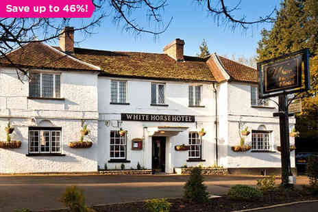 The White Horse Hotel - Charming Hotel in Picturesque Hertfordshire - Save 46%